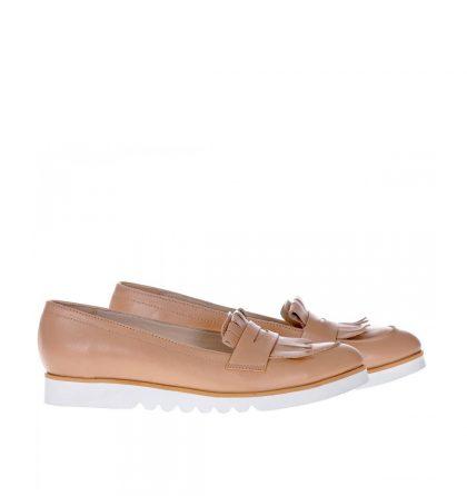 loafers-bej-dama-piele-naturala