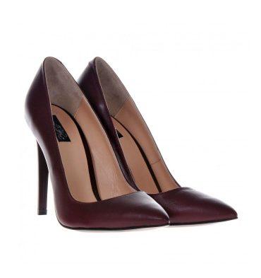 pantofi-dama-piele-bordo
