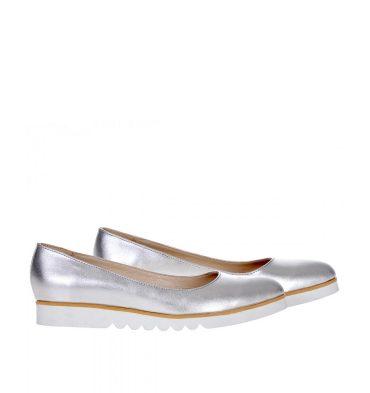 balerini-argintii-piele-talpa-alba-1