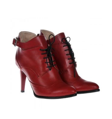 botine-rosii-piele-catarama-1