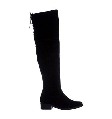 cizme-negre-peste-genunchi-piele-intoarsa-1