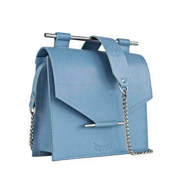 Geanta bleu serenity piele