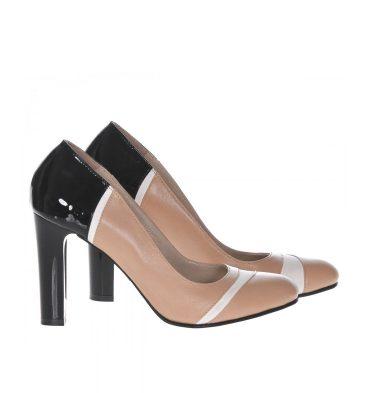 pantofi-office-piele-crem-negru-alb-1