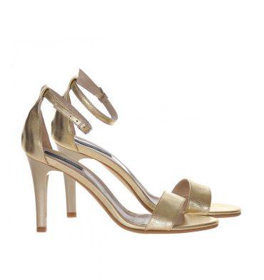 sandale-comode-aurii-piele-1