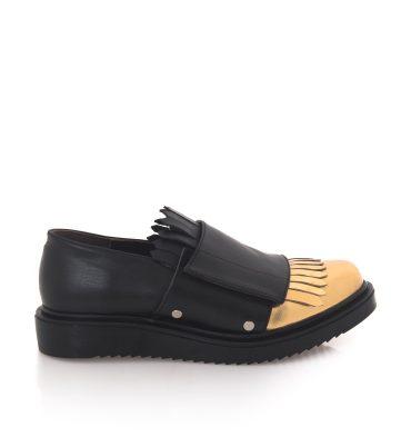 pantofi-oxford-negri-piele-franjuri-aurii-1