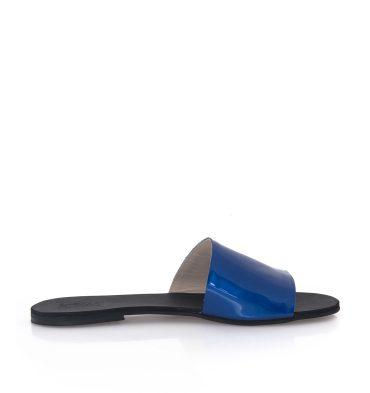 papuci-albastri-piele-lacuita-1