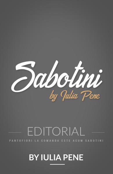 Sabotini by Iulia Pene