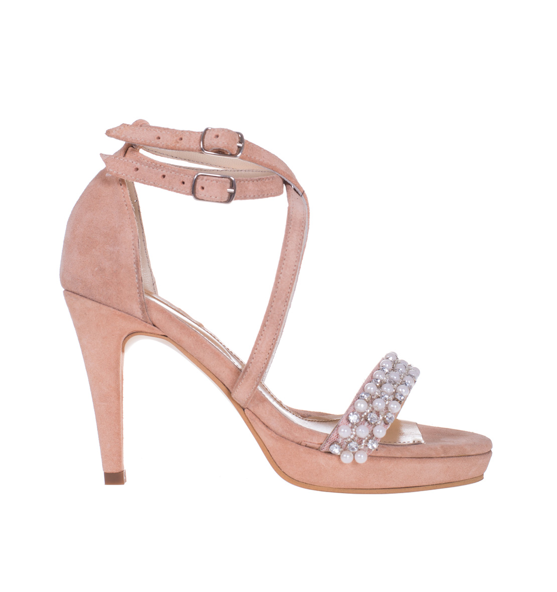 Sandale Roz Pal Perle