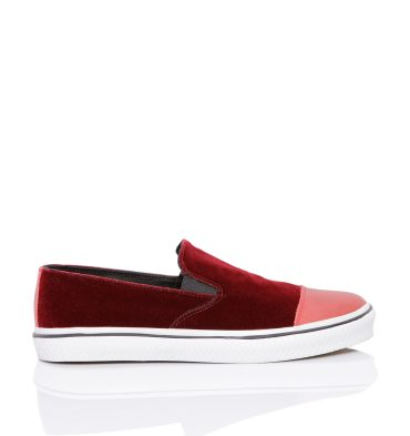 sneakers-dama-catifea-bordo-1