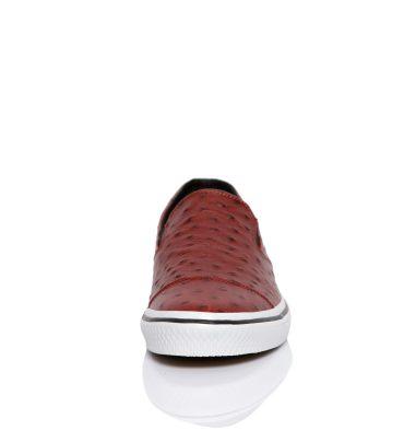 Sneakers dama piele bordo