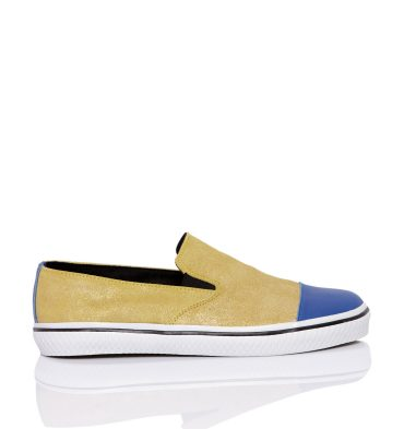 sneakers-dama-piele-galben-albastru-1