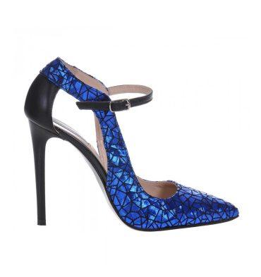 pantofi-albastri-piele-imprimeu-toc-inalt-1