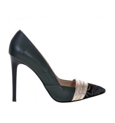 pantofi-stiletto-piele-verde-insertii-multicolore-1