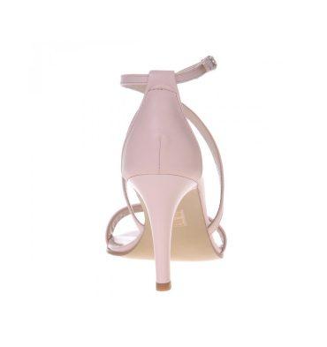 Sandale nude rose piele naturala