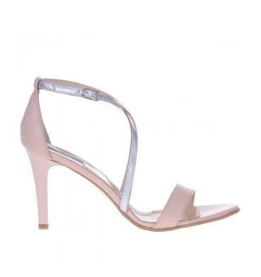sandale-piele-nude-piele-argintie-toc-inalt-1