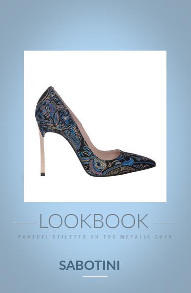 Pantofii cu toc metalic – eleganta si stil!