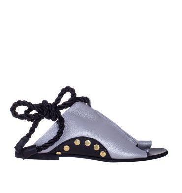 sandale-joase-piele-argintie-1