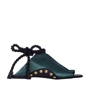sandale-talpa-joasa-piele-verde-sidefat-1