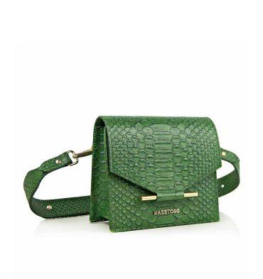 borseta-dama-piele-verde-croco-1