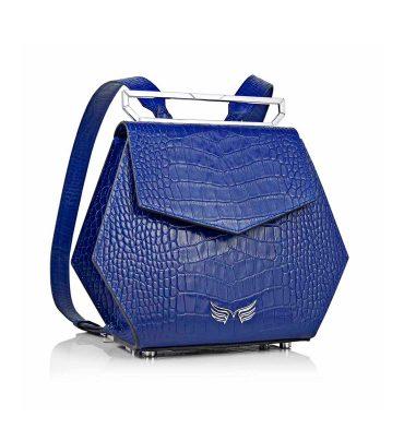 rucsac-piele-albastru-croco-hexagonal-1