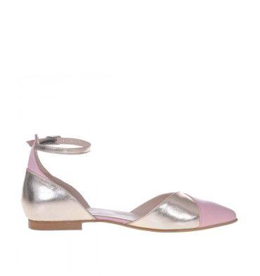balerini-stiletto-piele-roz-pal-piele-auriu-light-1