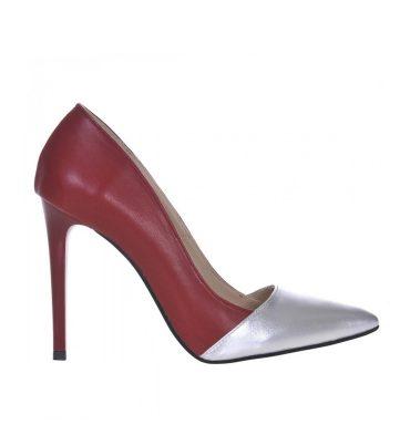 pantofi-stiletto-piele-bordo-piele-argintie-1