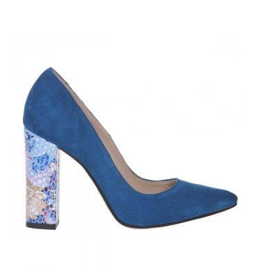 pantofi-toc-gros-piele-albastru-turcoaz-1