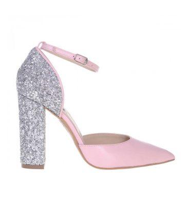 pantofi-piele-roz-pal-toc-gros-glitter-1