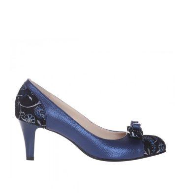 pantofi-toc-jos-office-piele-albastra-imprimeu-1