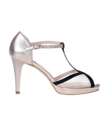 sandale-aurii-piele-insertii-verzi-toc-inalt-1