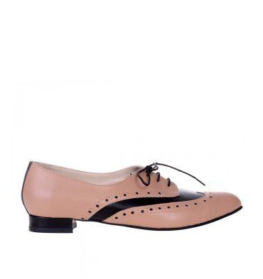 pantofi-oxford-dama-piele-cappuccino-piele-neagra-1