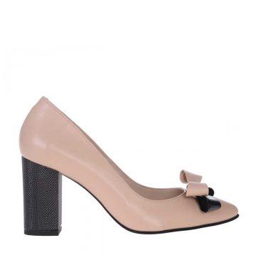 pantofi-toc-gros-piele-naturala-nude-inchis-1