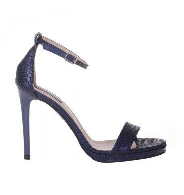 sandale-elegante-piele-albastra-imprimeu-sarpe-1