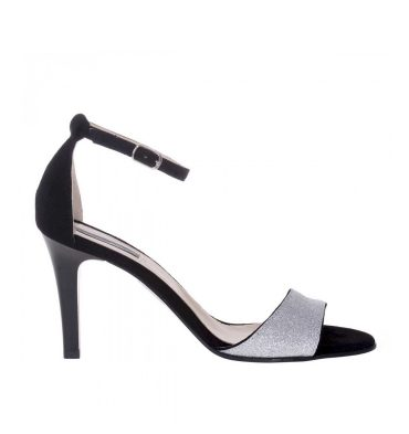 sandale-toc-jos-piele-intoarsa-neagra-si-glitter-argintiu-1
