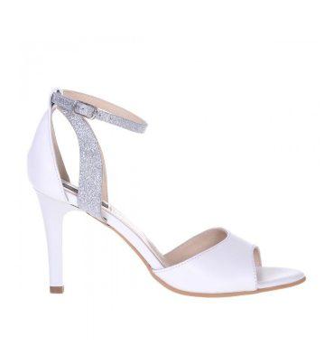 sandale-mireasa-piele-alba-si-glitter-argintiu-1