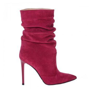 botine-stiletto-roz-magenta-piele-intoarsa-1