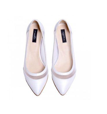 balerini-dama-piele-alb-sidef-si-plasa-alba-1