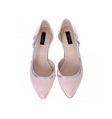 balerini-decupati-dama-piele-roz-pal-si-piele-imprimeu-1