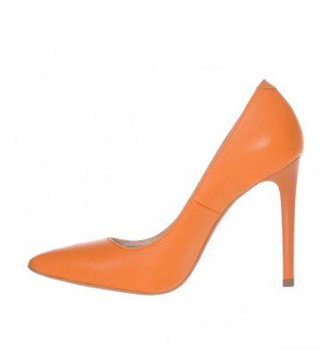 Pantofi inalti piele naturala mango
