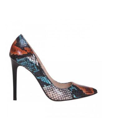pantofi-stiletto-din-piele-cu-imprimeu-sarpe-colorat-1