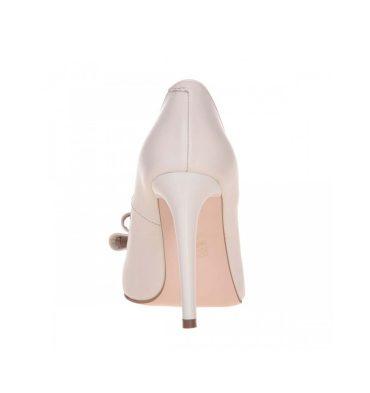 Pantofi stiletto mireasa accesorizati cu funda