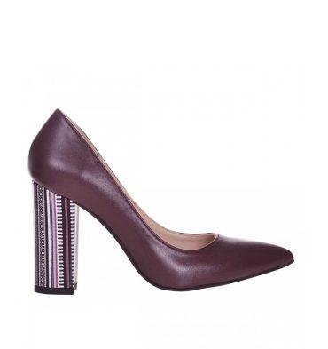 pantofi-toc-gros-piele-bordo-si-piele-imprimeu-1