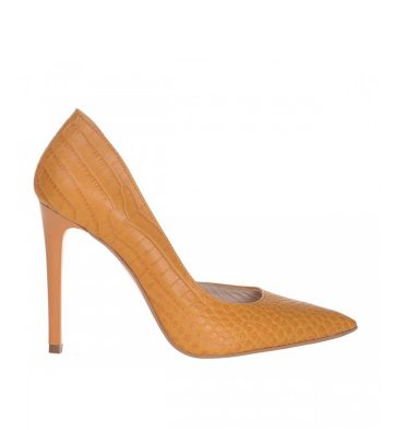 pantofi-decupati-stiletto-din-piele-galben-mustar-cu-print-croco-1