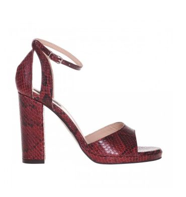 sandale-toc-patrat-din-piele-naturala-rosu-croco-1