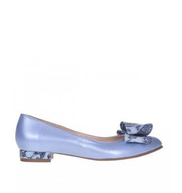 Balerini-bleu-sidefat-din-piele-naturala-accesorizati-cu-funda-1