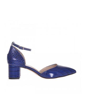pantofi-dama-toc-jos-piele-albastra-cu-presaj-croco-1