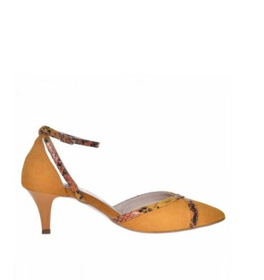 pantofi-stiletto-toc-jos-piele-intoarsa-galben-mustar-1