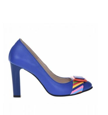 pantofi-office-cu-toc-gros-din-piele-albastra-si-piele-imprimeu-colorat-1