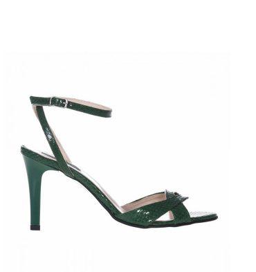 sandale-comode-din-piele-verde-croco-1